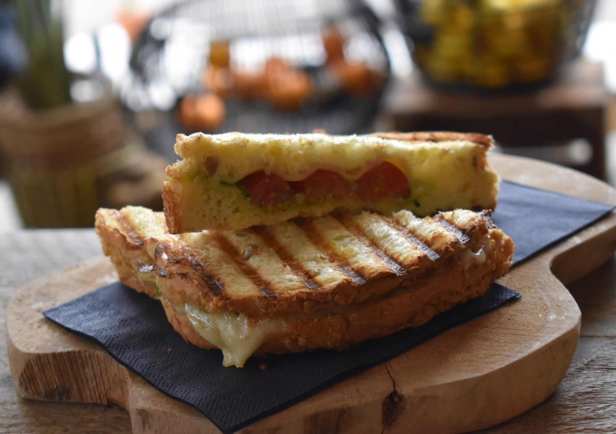 Toast met kaas en pesto SAP.BAR